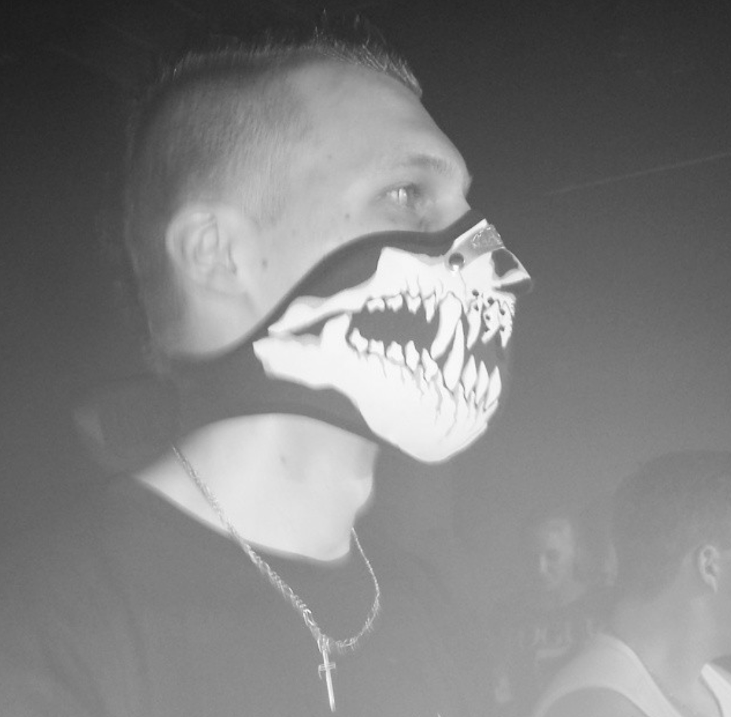 Facemask Skull Fangs