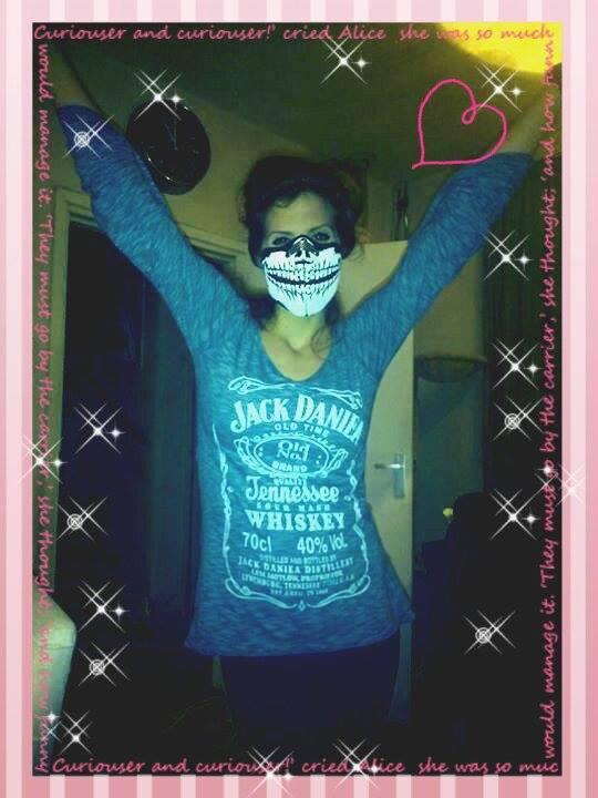Facemask Skull Meisje