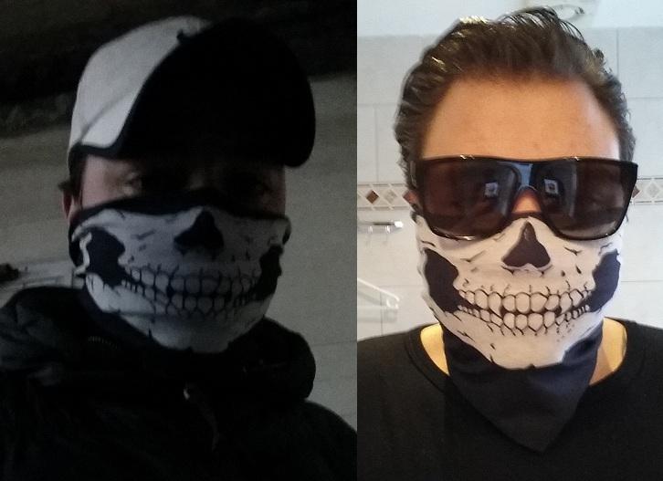 Bandanasjaal Skull